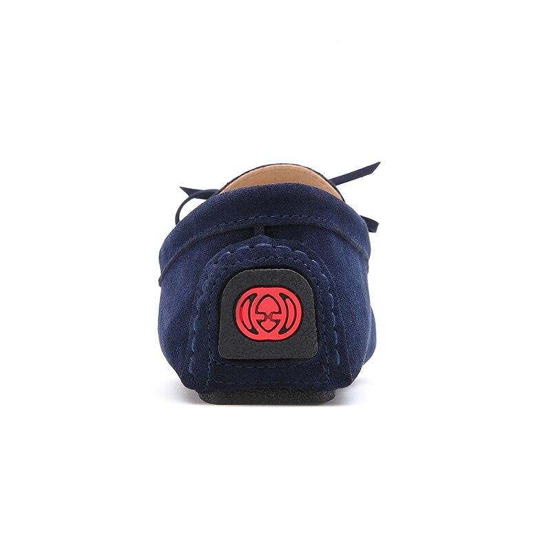 Image 5 - EOFK 2020 jesień kobiety mokasyny mokasyny dorywczo prawdziwej skóry buty kobieta lady Femme mieszkania mokasyny Slip On niebieskie butyloafers moccasinsshoes moccasinmoccasins brand -