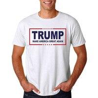 2016 Donald Trump T-Shirt Men USA presidential Make America Great Again Trump Tops Election Campaign Vote Short T-Shirt