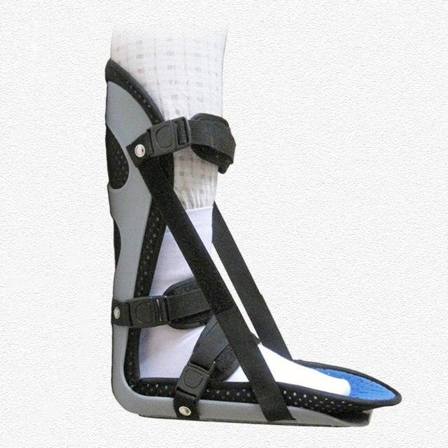 발목 지원 brac 발 드롭 부목 가드 염좌 보조기 골절 발목 교정기 응급 처치 발바닥 근막 염 발 뒤꿈치 통증