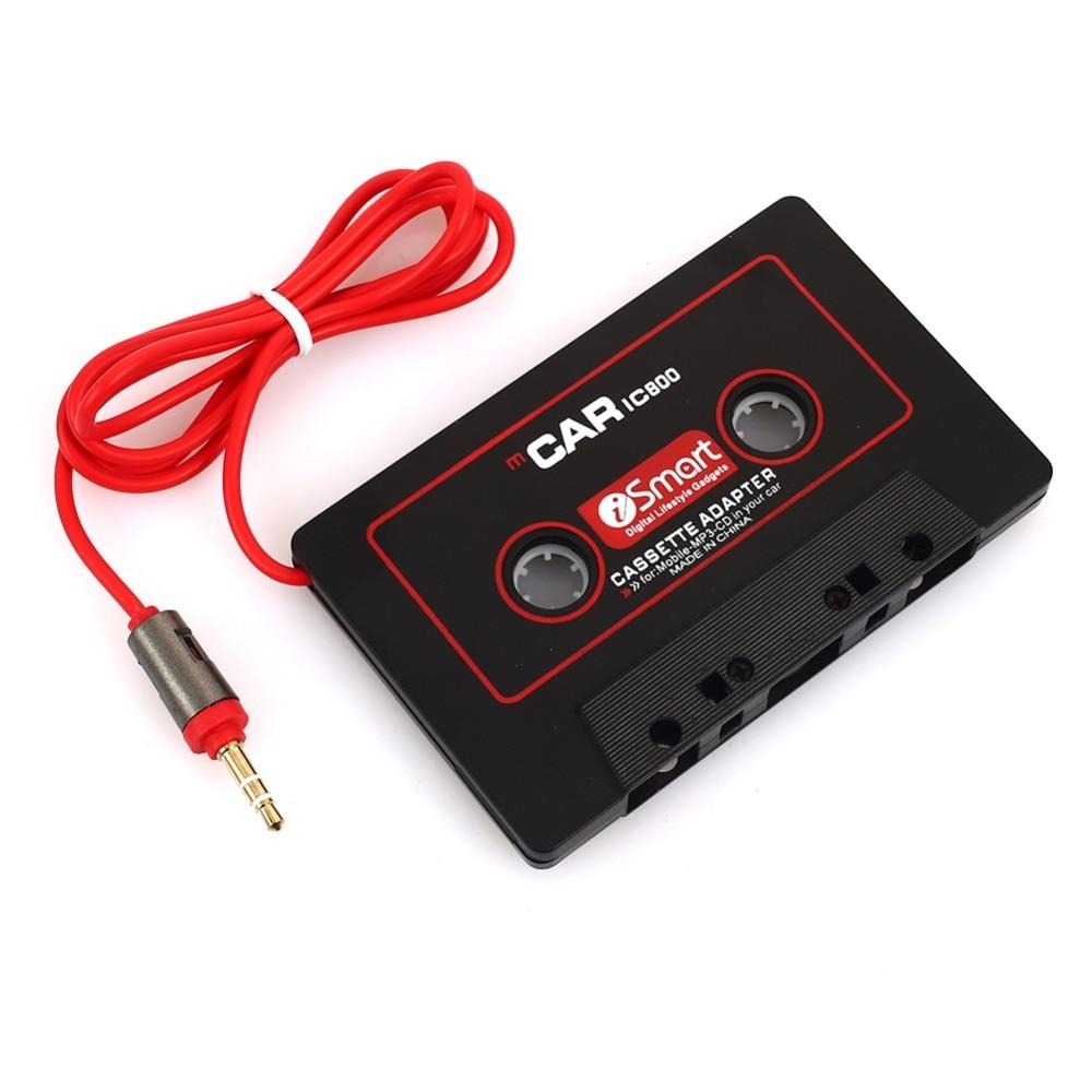 Unterhaltungselektronik Mvpower Kassette Aux Adapter 3,5mm Stecker Band Konverter Aux Kabel Für Ipod Iphone Mp3 Cd Player Langlebig