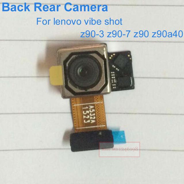 Original voltar rear big câmera principal para lenovo vibe shot z90-3 z90-7 z90 z90a40 reparação peças de reposição frete grátis