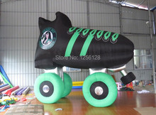 4m Long Inflatable Roller Shoes for Advertising