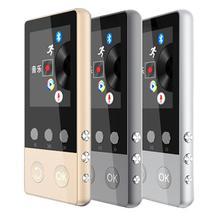 HIFI Bluetooth4.0 MP3 Lecteur 1.8 pouce TFT Écran mp3 lecteur de musique avec Enregistreur Vocal, podomètre, vidéo, FM Radio Audio Lecteur