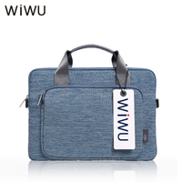 WIWU New Denim Laptop Briefcase For Dell 14 15 6 Handle Bag For Xiaomi Notebook Air