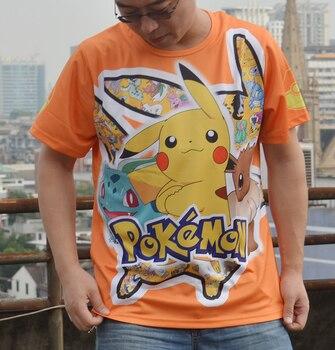 Аниме футболка Покемоны полноценная печать