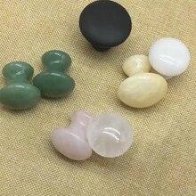 Красочный Рудный камень Gua Sha массажер инструмент гриб форма тела против морщин релаксации Здоровый Инструмент