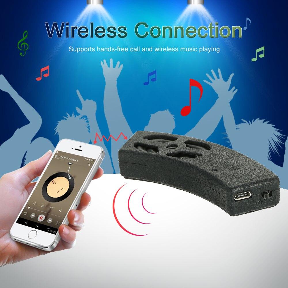 Portable Waterproof Boombox Mini Subwoofer Bicycle Motorcycle Bluetooth Handsfree Helmet Audio Stereo Headset Speaker For IPhone