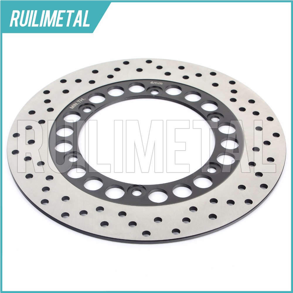 Rear Brake Disc Rotor for XP 500 SP Black Max Limited Edition XP 500 SV Night Max XP 500 T-Max ABS 2008 2009 2010 2011 xp t max 500 01 11 motorcycle rear brake rotor disc for yamaha tmax500 xp500 2001 2011 xp t max 500 abs 2008 2009 2010 2011