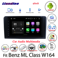 Liandlee Android System For Mercedes Benz ML Class W164 ML300 ML350 Radio GPS Nav MAP Navigation BT HD Screen Multimedia NO DVD