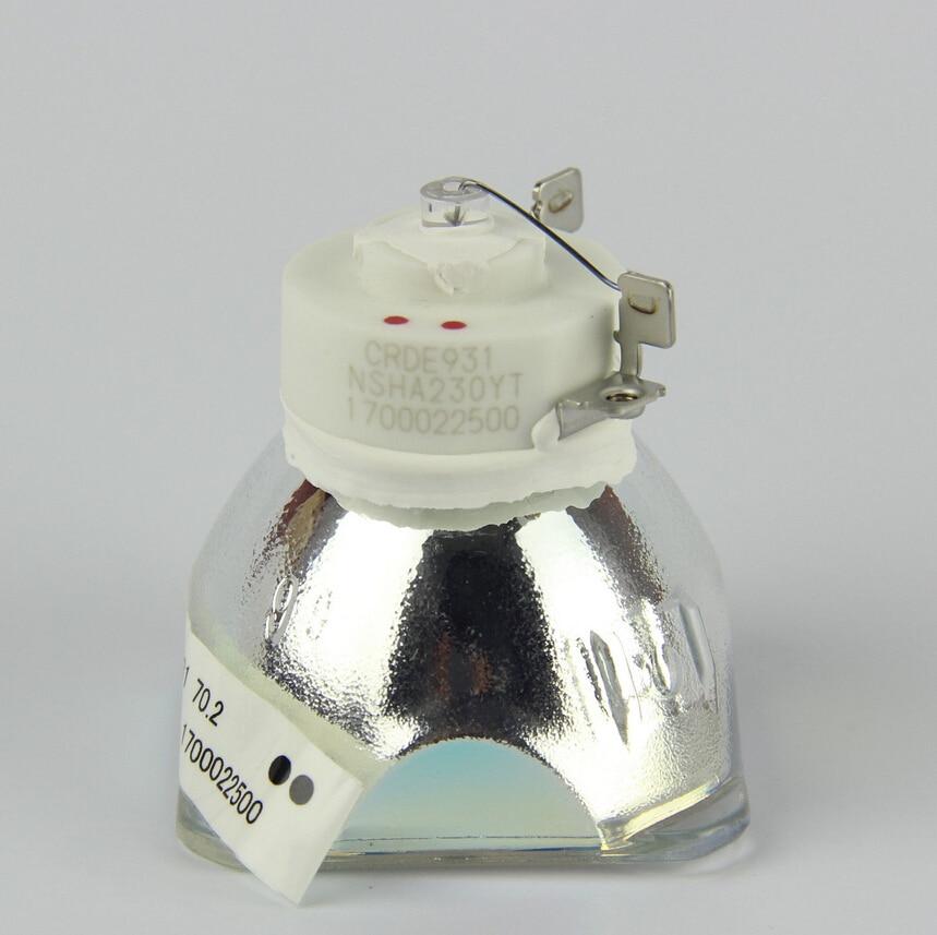 Original NSHA230W Bare lamp ET-LAL400 / ET-LAL400C for PANASONIC PT-X270 / PT-X271 / PT-X302 / PT-X323 / PT-X351/PT-X3220 replacement bare lamp et lac80 for panasonic pt lc56 pt lc56e pt lc80 pt lc76 ect