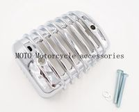 Chrome Oil Cooler Cover for Heritage Softail Classic FLSTC 2001 2002 2003 2004 2005 2006 2007 2008 2016 Motor cooler cover