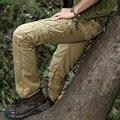 Spring new men's casual pants S ports overalls multi-pocket patch pocket slacksdo543