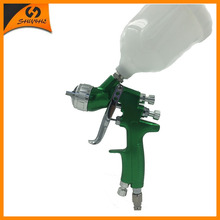 SAT1164 nozzle 1.3mm spray gun for painting hvlp spray paint gun tank high pressure spray gun cup