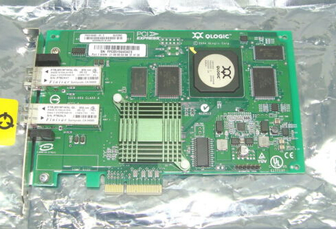 QLE2362 PX2410402-01 PCI EXPRESS FIBRE CHANNEL HBA CARD   Original 95%New Well Tested Working One Year Warranty