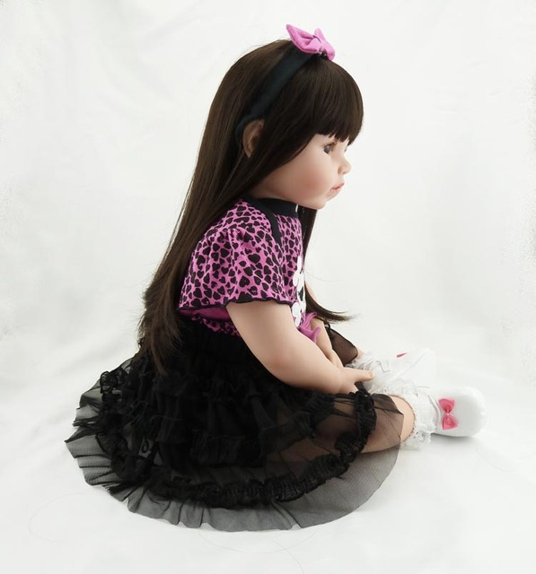 High-end 52cm newborn silicone reborn baby