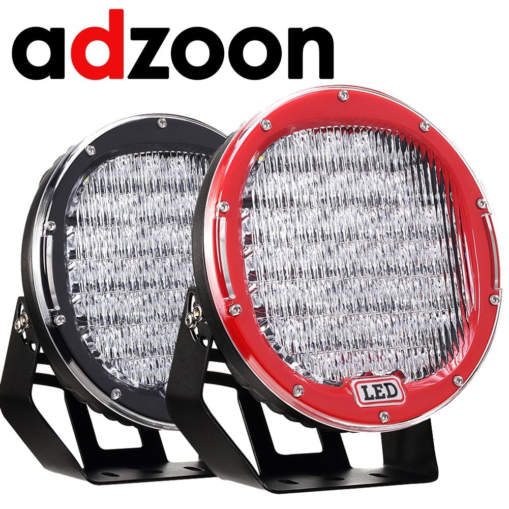 ADZOON LED Driving Light 9 inch 225W Car Lamp 12V 24V Spot Flood For 4WD 4x4 Truck Trailer SUV Offroad Boat ATV