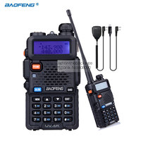 BaoFeng UV-5R Walkie Talkie Dual Band VHF/UHF136-174Mhz 400-520Mhz Two Way Radio Handheld + 1pcs USB Programming Cable