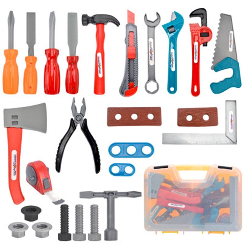 26 PCS/Set Garden Tool Toys For Children Repair Tools Pretend Play Environmental Plastic Engineering Maintenance Tool Toys Gifts