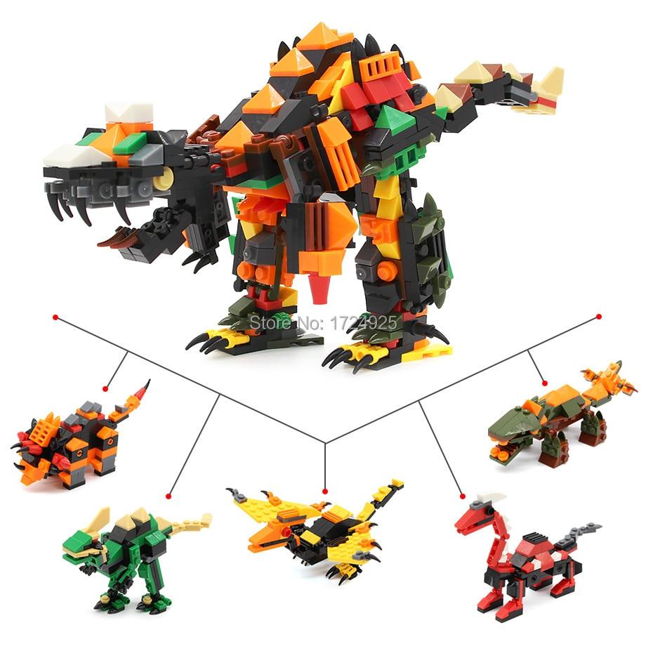 5in1 Jurassic World Super Dinosaur Transfomable Building Block Sets Models Kids Educational Assembley Toys gabriela pohoata romanian educational models in philosophy