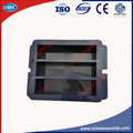40x40x160mm Plástico três Gangues Molde Para Prismas Cimento Argamassas de Cimento Moldes De Pasta de Teste de Três Gangues moldes