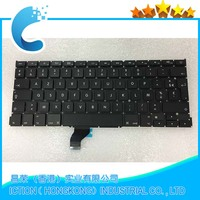 13 3 Laptop Replacement FR Keyboard For Macbook Pro Retina A1502 French Keyboard Free Shipping