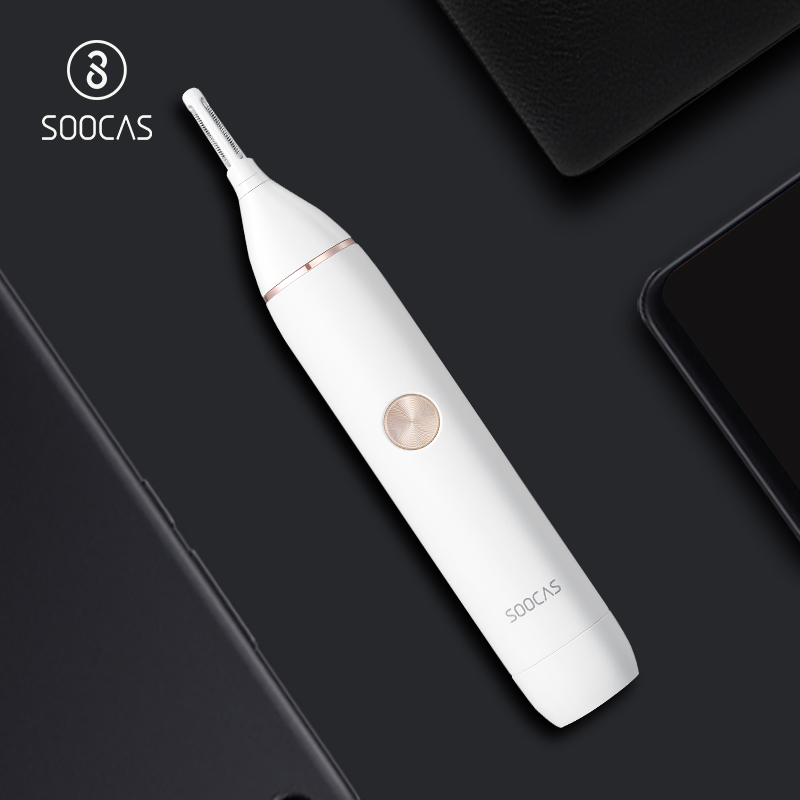 SOOCAS N1 0 Skin Scratching Electric Nose Trimmer All in one trimmer for nose and ears Portable nose