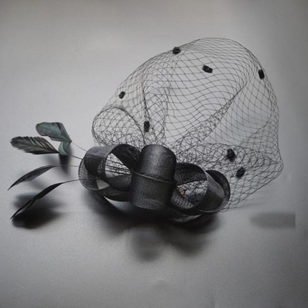 Chapeau Plume et voile