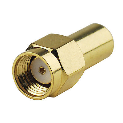 50 Ohm RF Coaxial Loads Termination RP SMA Male Termination DC 3Ghz Straight
