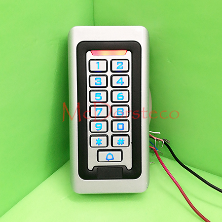 New Metal Shell Keypad Rfid Access Control ID/EM Password IP68 Waterproof Keypad Access Control Cab be as Wiegand Reader