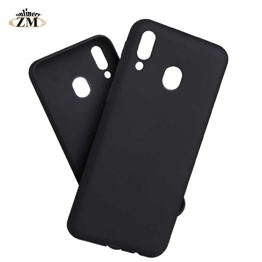 Matte case for samsung galaxy M30 M20 M10 A10 A30 A40 A50 A70 Plain soft TPU cover for samsung M20 A8S A9S A6S Cases