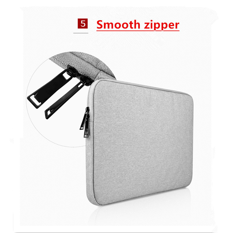 Image 4 - 2018 Hot Zipper Waterproof Sleeve Case For Macbook Laptop AIR PRO Retina 11 13 14 15 15.6 inch Notebook Touch Bar Business bag-in Laptop Bags & Cases from Computer & Office
