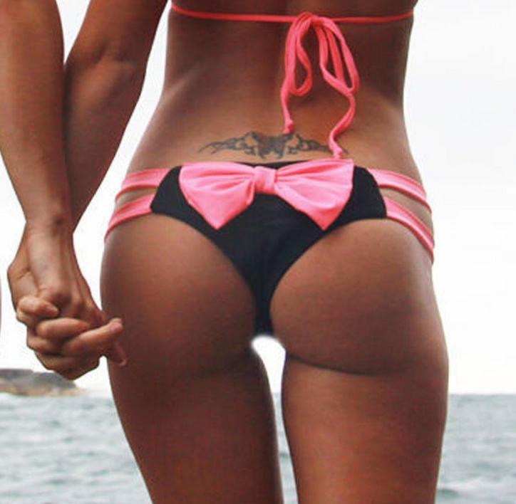 Summer style 17 swimsuit bow bikini bottom cute Swimwear brand biquini bikinis Beach suit women usa brazilian bikini bottoms 12