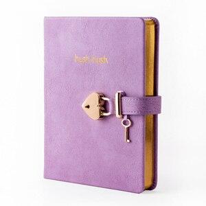 Image 2 - هوش هوش بلدي مذكرات سرية الطبعة الذهبية ، مجلة دفتر مذكرات مع قفل * أفضل بائع