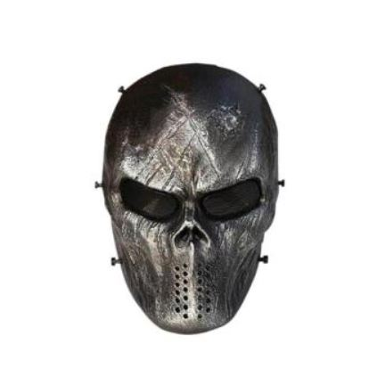 SPORTSHUB Cool Skeleton Zombie Skull Warrior Paintball Mask Airsoft - Laskmine - Foto 6