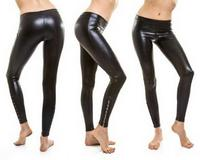 Latex Pants Trousers Seamless No Zipper Dipped By Mould Black Color Sexy Unisex Plus Large Big