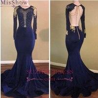 Заказ блестящие с длинным рукавом платье для выпускного вечера es Вечеринка платье Русалка длинное платье для выпускного вечера вечерние пл