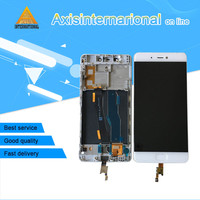 Axisinternational LCD Screen Display Touch Panel Digitizer With Frame For Xiaomi 5s Mi5s M5s White Black