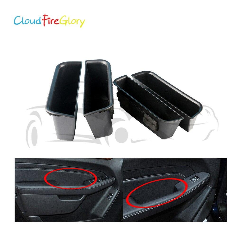 CloudFireGlory для Mercedes Benz E GLE GLS GL класс 4 шт. внутренняя дверная ручка подлокотник коробка для хранения Контейнер Органайзер держатель