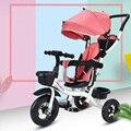 Трехколесный велосипед 4 в 1  для детей  с обратной стороны  для езды на велосипеде  игрушки  коляска  детские автокресла  коляска для детей  ав...