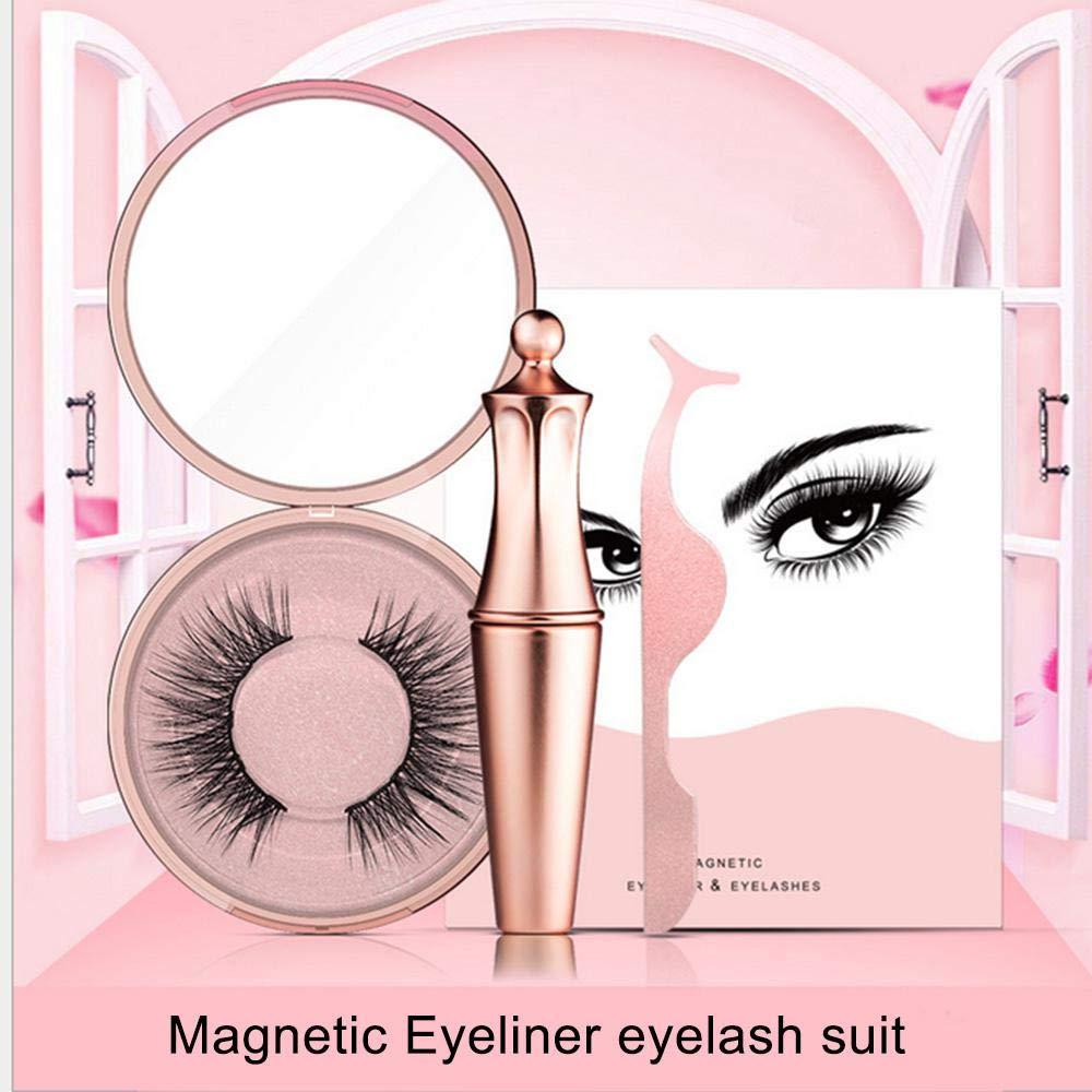 zoom delineador e cílios magnéticos