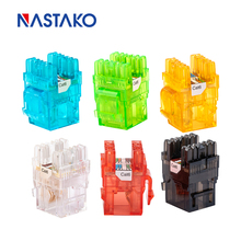 RJ45 Cat5e Cat6 UTP Keystone Female Jack Connector Adapter for Wall Plate Wisted Pair RJ45 Internet Network Ethernet Lan Cable