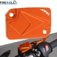 Orange Motorcycle CNC Engine Oil Filter Cover Cap For KTM DUKE 125 200 390 690 Duke RC Reservoir Cup