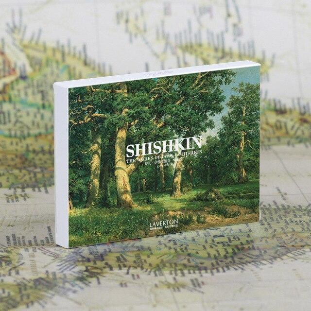 Насыщенный цвет hishkin картина маслом Почтовые открытки 30 шт. набор Почтовые открытки известный Картина маслом rc170103