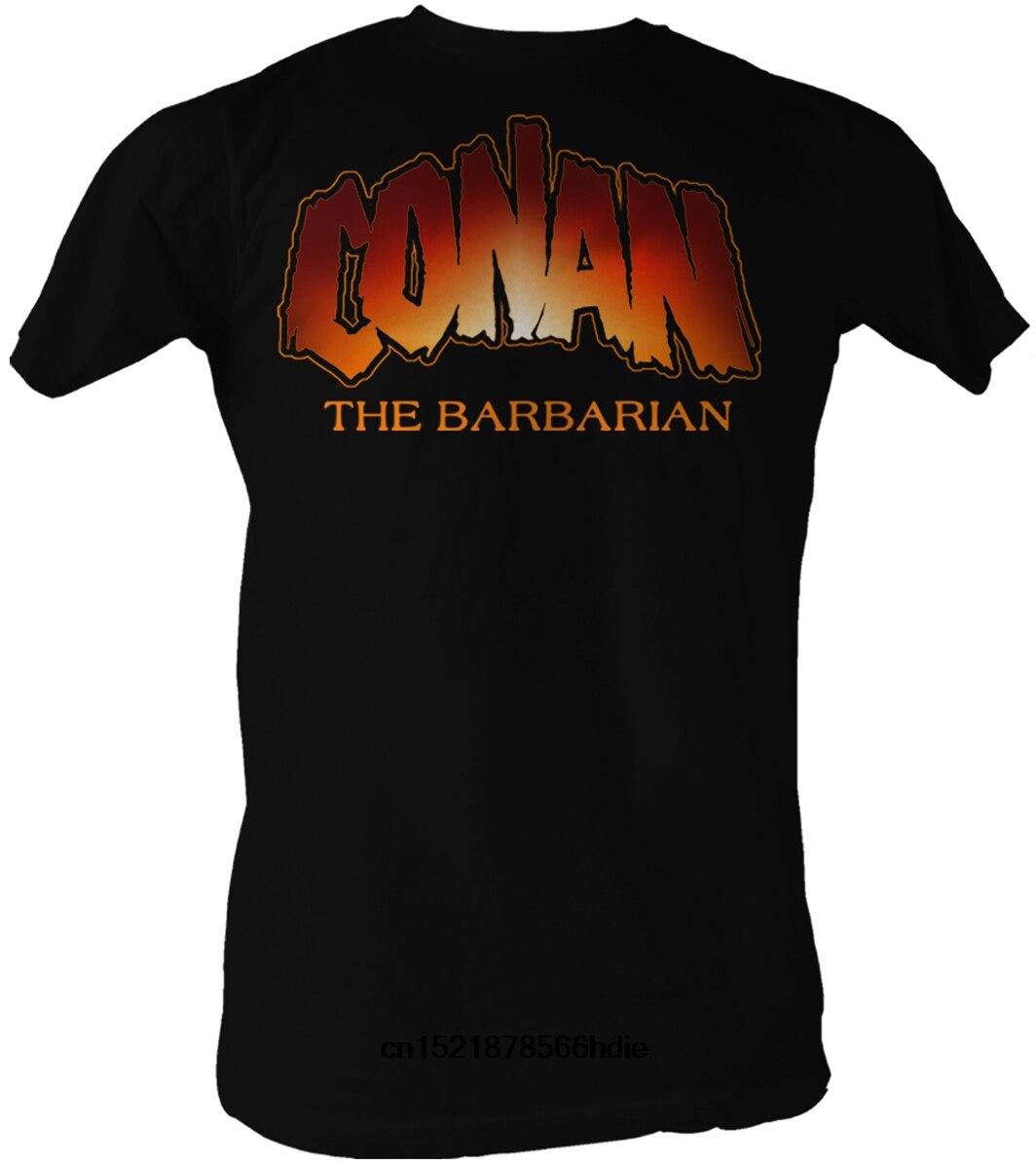 55ead3c4038 Gildan funny t shirt men novelty tshirt Conan the Barbarian T Shirt New  Logo-in T-Shirts from Men s Clothing on Aliexpress.com