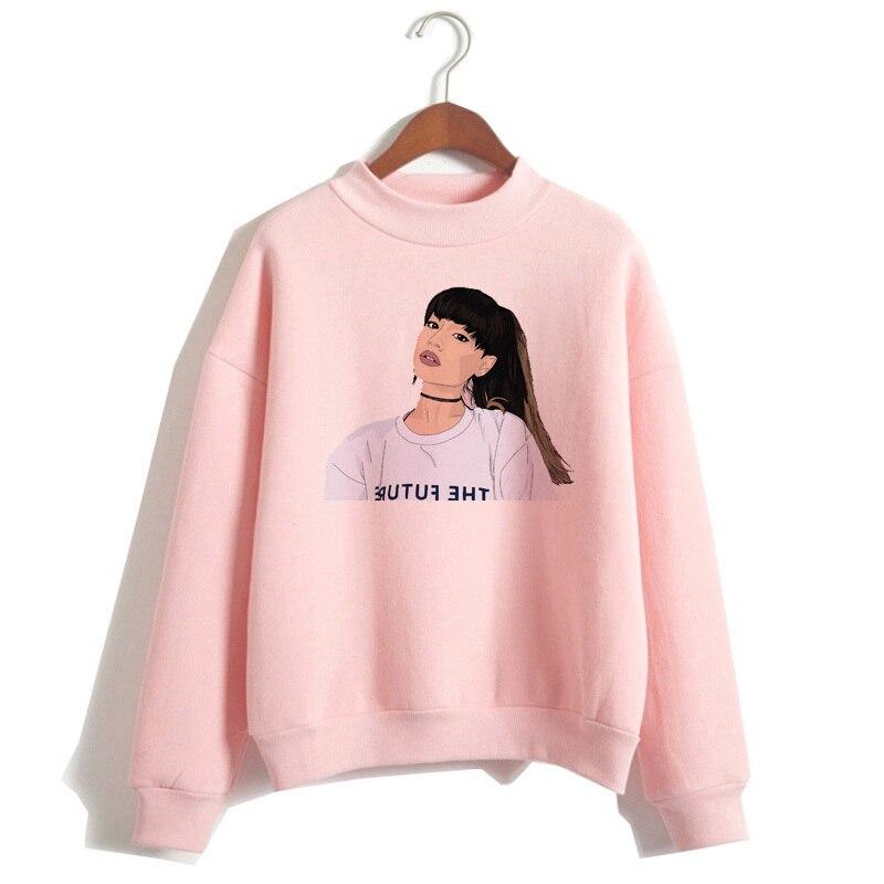 Ariana Grande Sweatshirt 19 No Tears Left To Cry Hoodie Women Print God Is A Woman Sweatshirts Pullover hoodies Harajuku 12