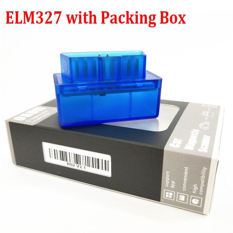 Супер ELM327 V1.5 Мини ELM327 Bluetooth адаптер OBD2 elm327 автоматический диагностический интерфейс ELM 327 OBDII автомобильный считыватель кодов проверочный двигатель - Цвет: ELM327 v1.5 QRCode