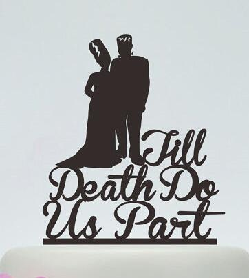 Personalized Till Do Us Part Wedding Cake Toppers Bridal Baby Shower Bachelor Party Theme Decorations