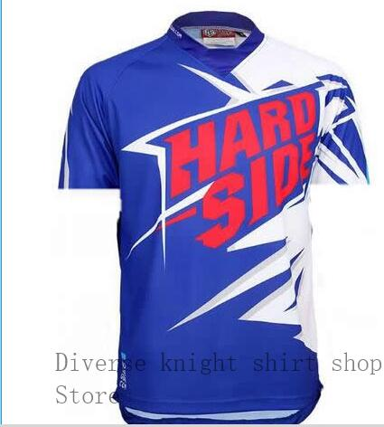 2019 new summer downhill jersey bike Jersey bicycle short-sleeved mountain motocross