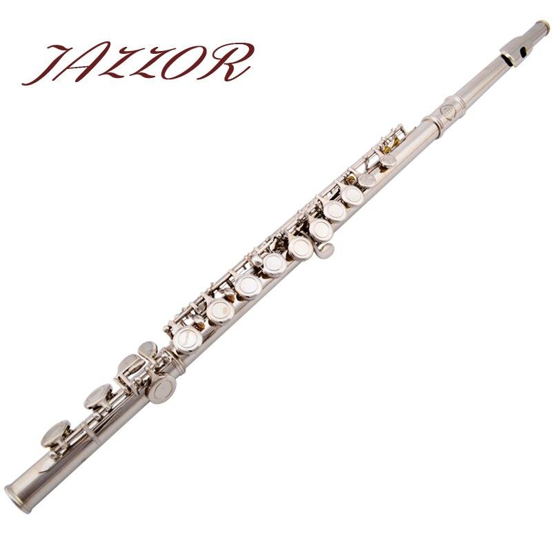 Professional NEW Flute 16 holes C tone High Quality Silver Plated authentic Flute instrumentos musicais ocarina