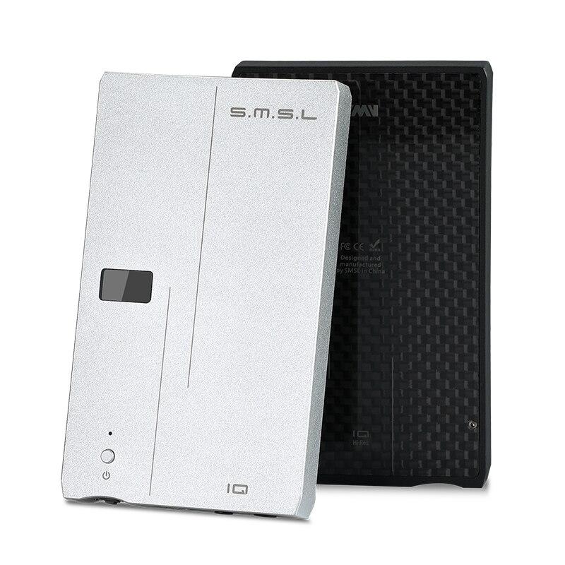 SMSL IQ USB MINI HiFi Portable DAC Decode DSD512 XMOS U208 Headphone Amplifier